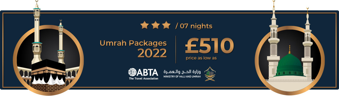 3 star cheap umrah package 2021