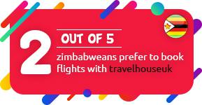 2 out of 5 Zimbabweans prefer to book flights with Travelhouseuk
