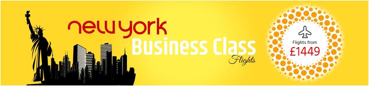 New York Business Class flights