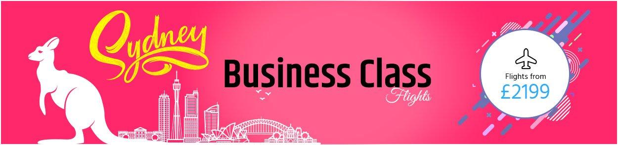 Sydney Business Class flights