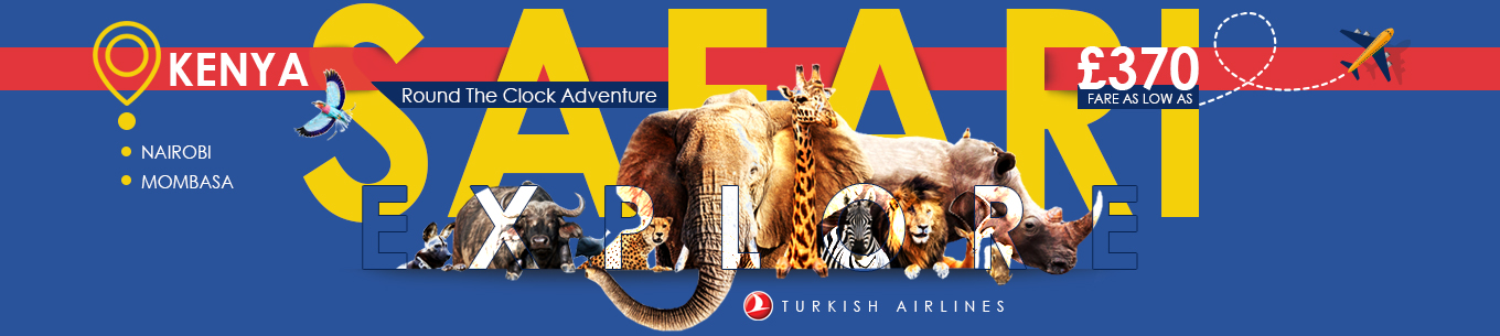 Kenya flight deals with Turkish Airlines
