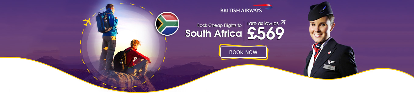 Flights to South Africa with British Airways
