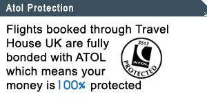 Flights booked through travelhouseuk.co.uk are fully bonded 