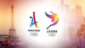 Paris and Los Angeles celebrates successful Olympic Bids