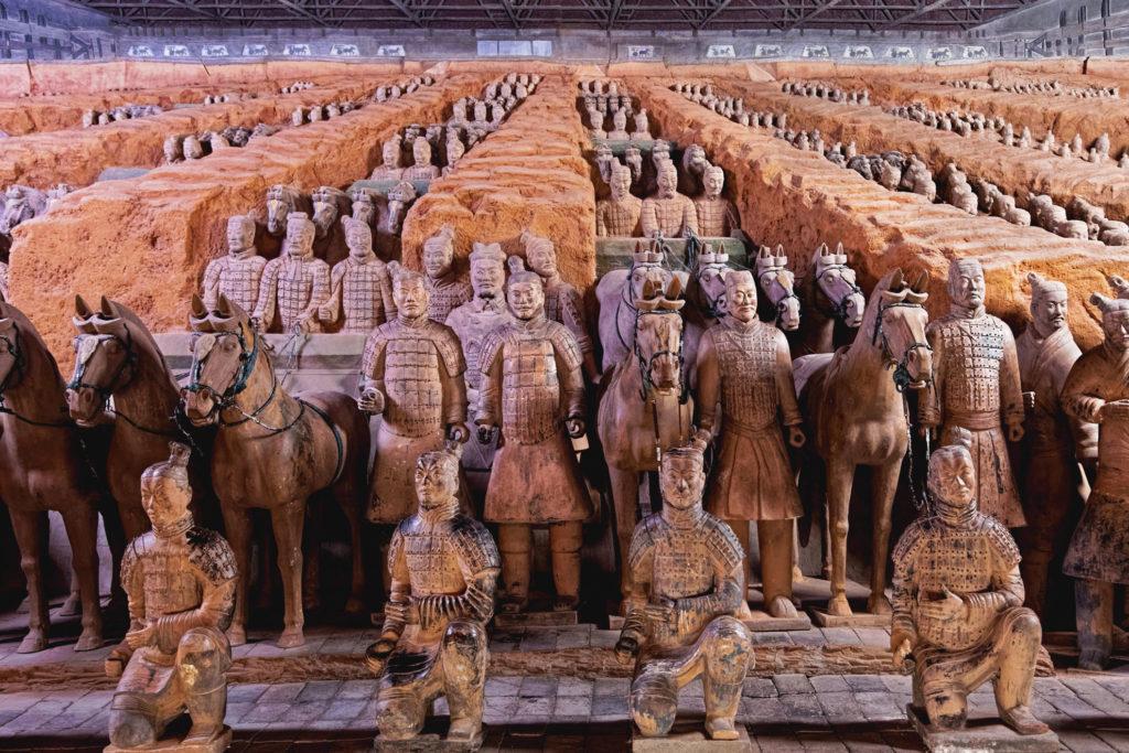 Taracotta Army in China