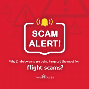 Why are Zimbabweans being targeted the most for fake flight deals?
