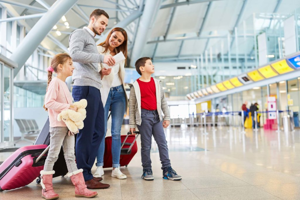 Long haul flights with stopovers