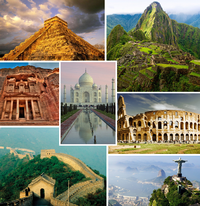 Seven Wonders Of The World In Pictures