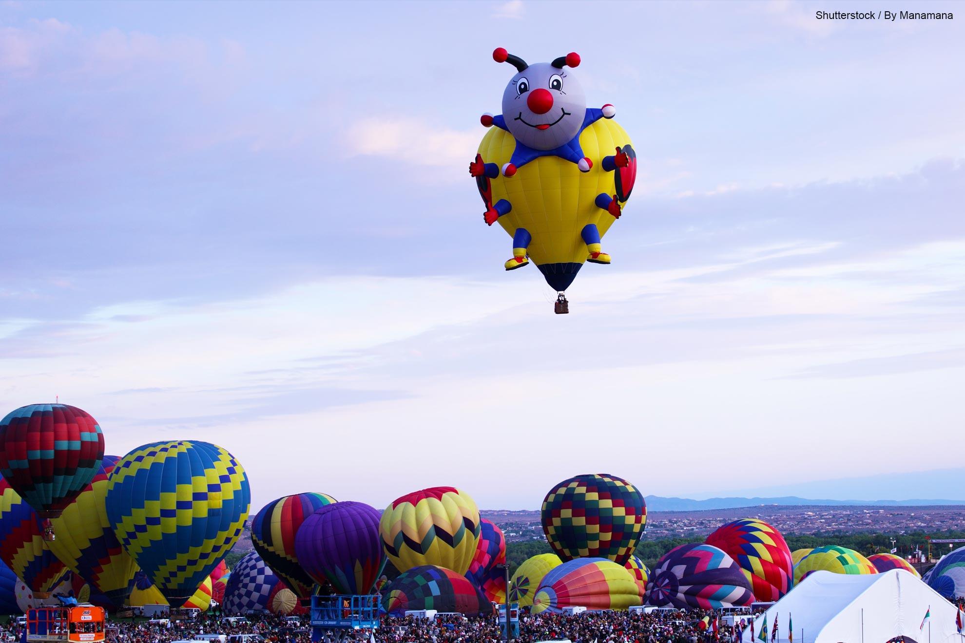 The Astounding Albuquerque International Balloon Fiesta 2013