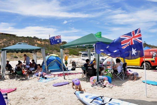 Hot water beach surf life saving