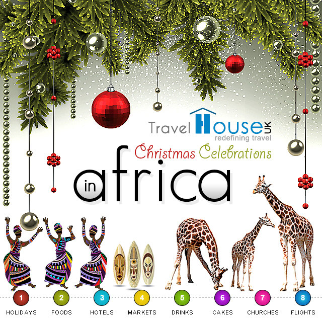 Christmas in Africa Infographics