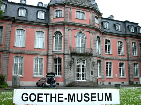 save time for a trip to goethe haus and museum. Black Bedroom Furniture Sets. Home Design Ideas