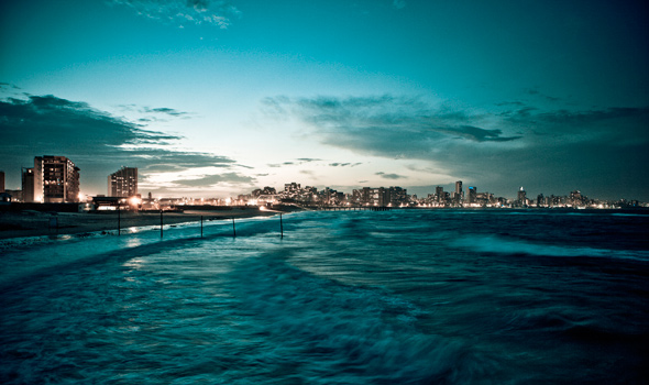 Golden Mile Waterfront Durban South Africa