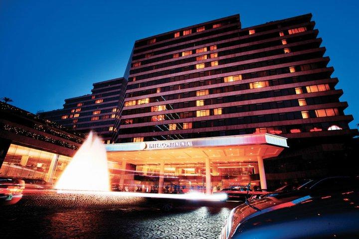 Nightview of Intercontinental Hong Kong