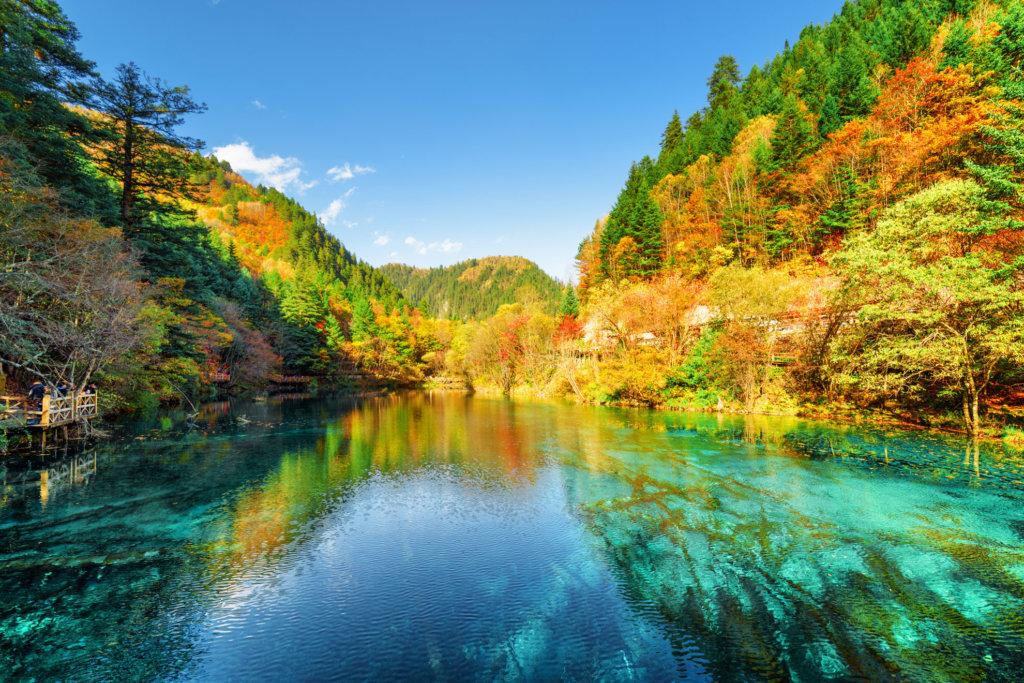a beautiful Scenery of China