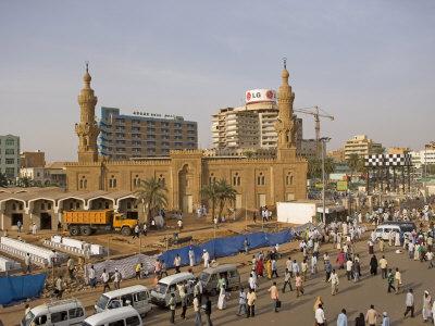 Khartoum A Beautiful City On Al Mogran
