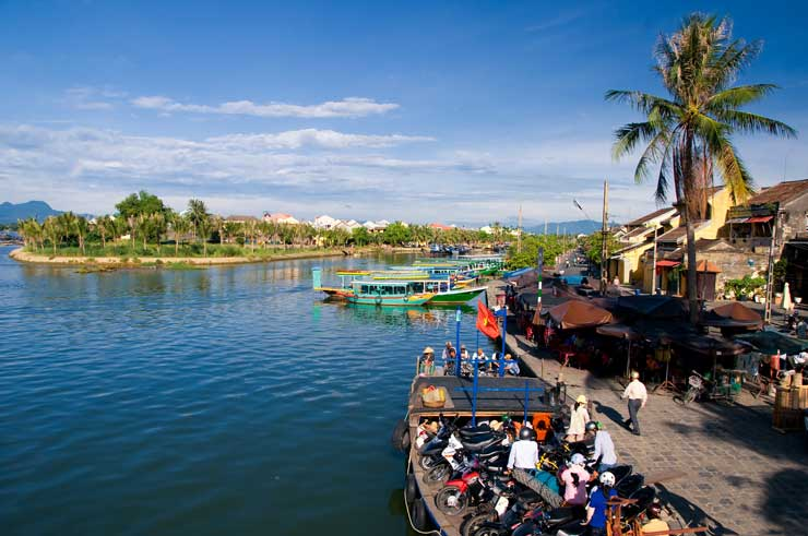 Hoi An market in the morning, Danang, Vietnam