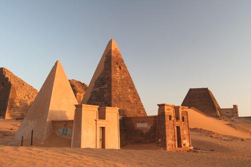 Meroe Pyramids Khartoum Sudan