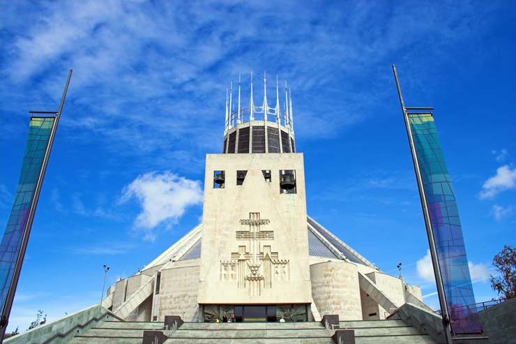Metropolitan Cathedral of Christ The King Liverpool Merseyside England
