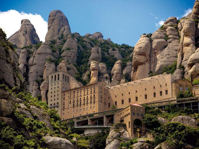 Montserrat-Mountains-Spain