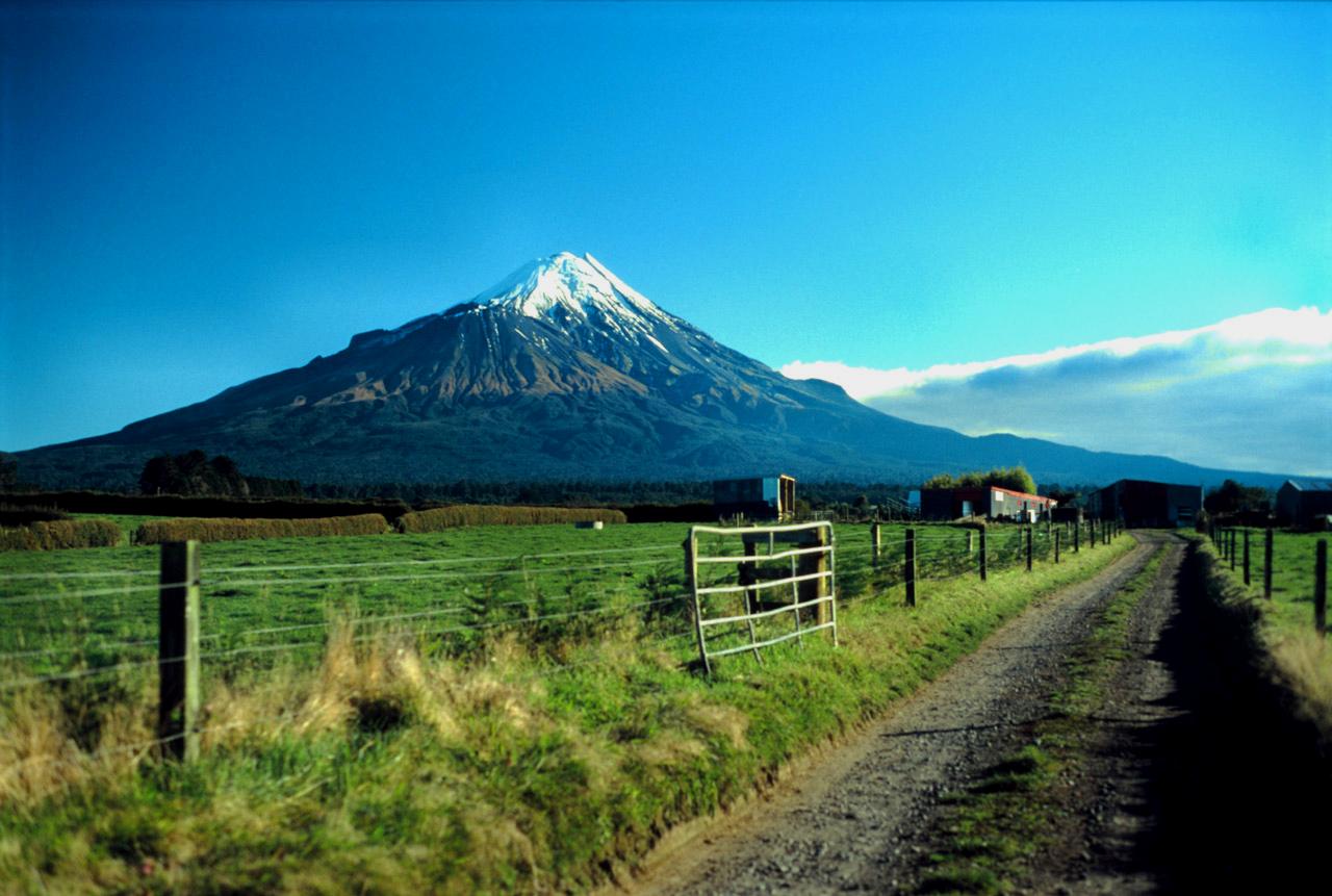 Visit The Famous Mount Taranaki In New Plymouth, New Zealand