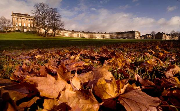Royal Victoria Park Bath in Autumn