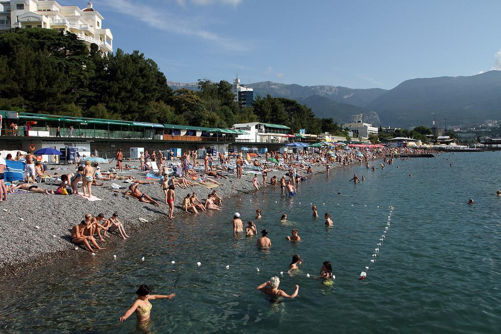 Swimming in Black Sea