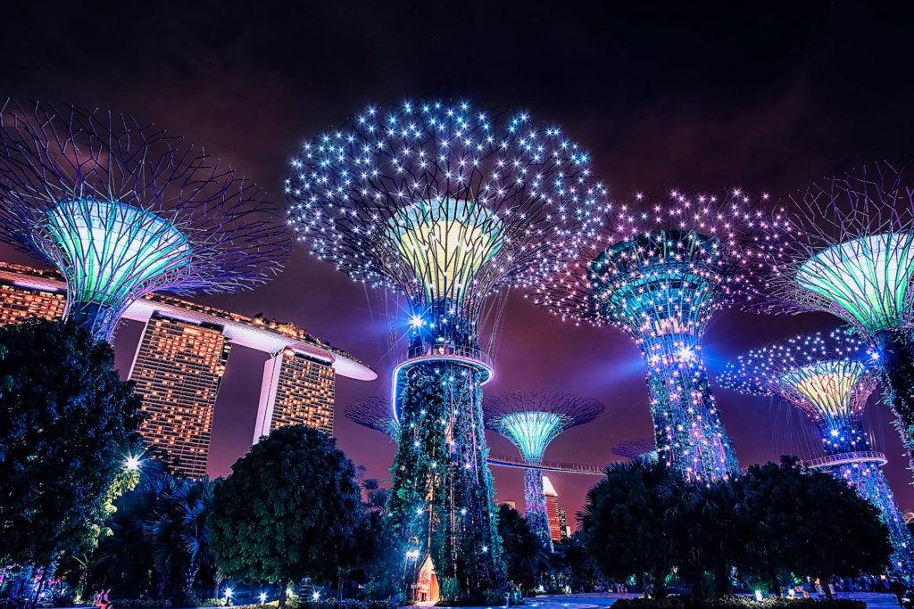The Marvelous Gardens by the Bay