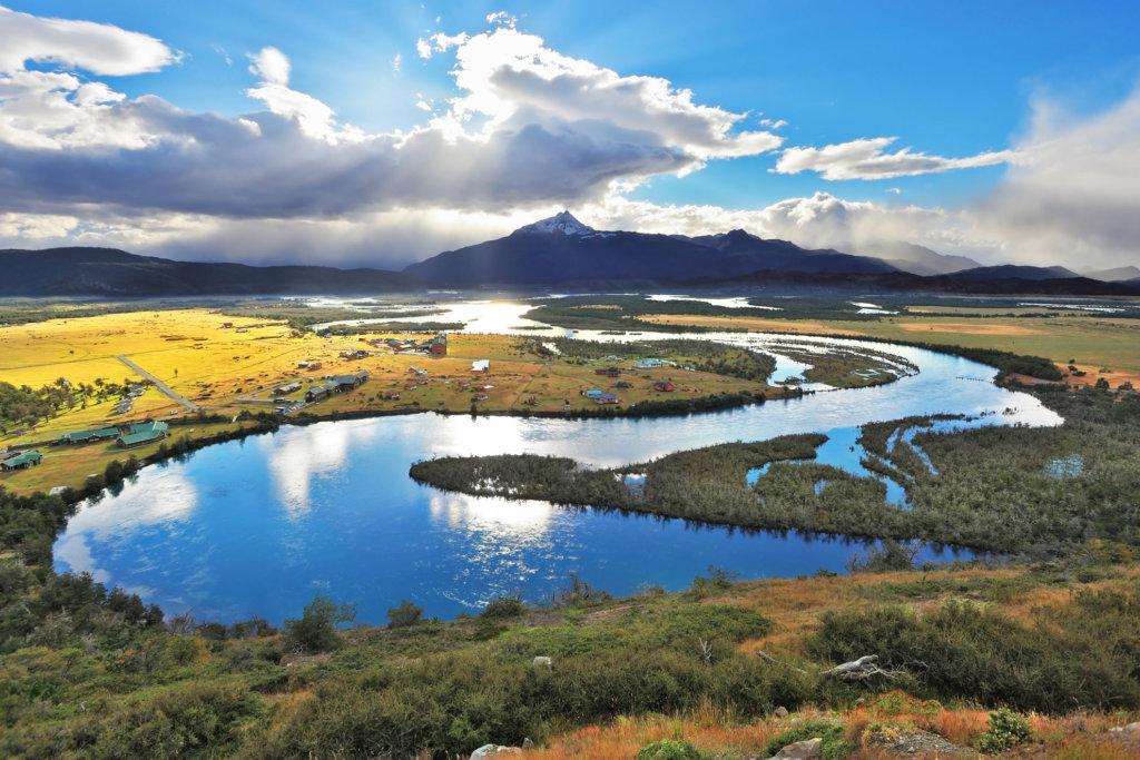 Beautiful scenery of Chile