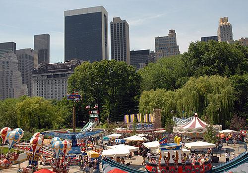 The Victorian Gardens Amusement Park New York City