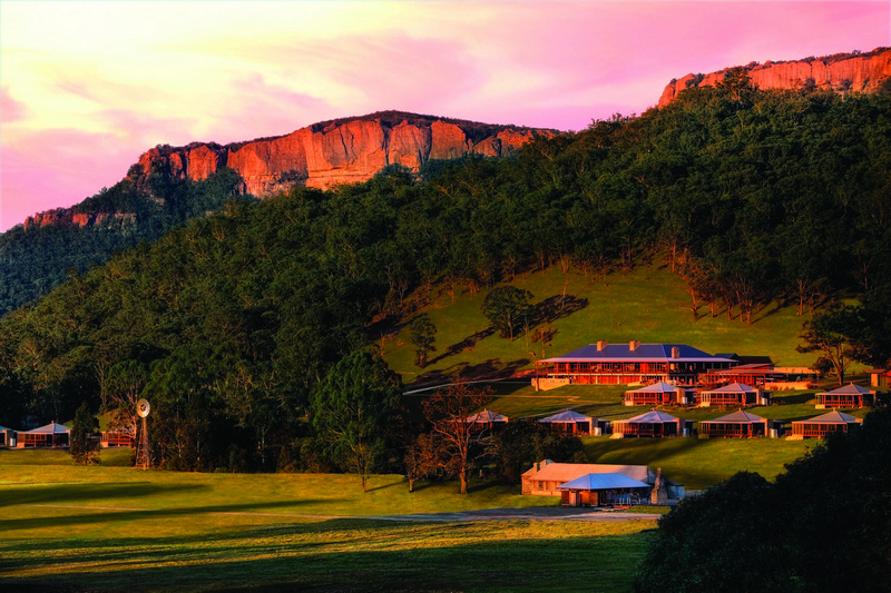 Wolgan Valley Resort and Spa in New South Wales Australia