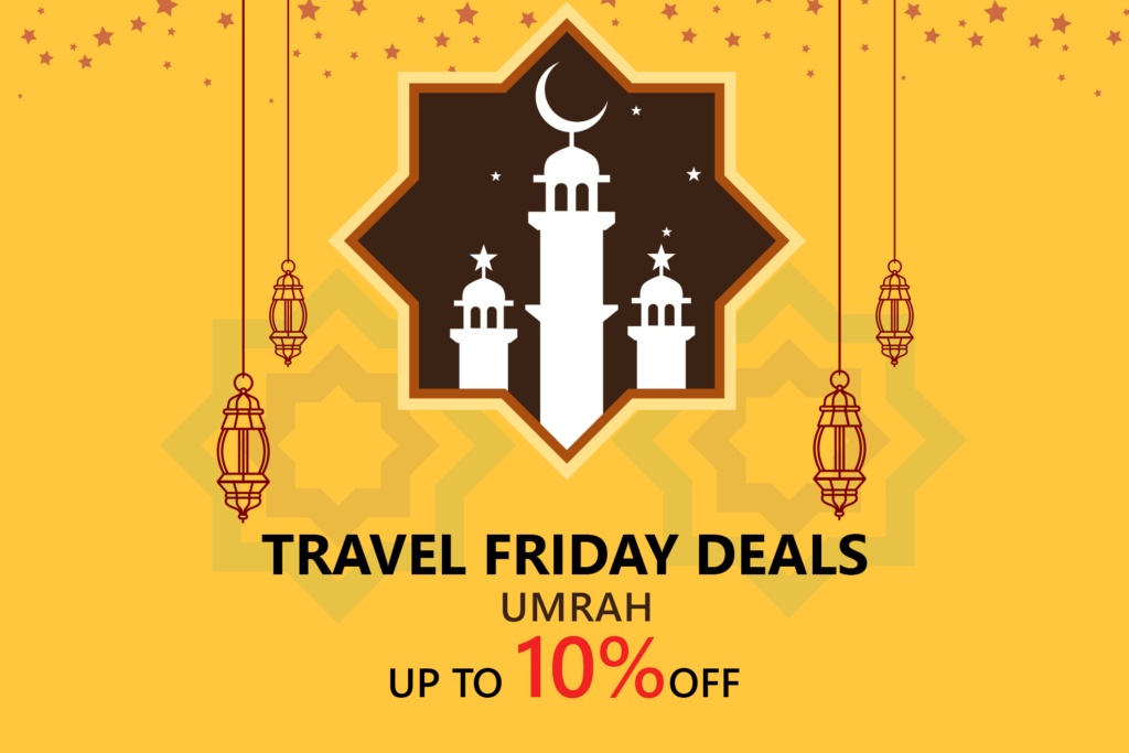 Book cheap umrah deals in discounted prices