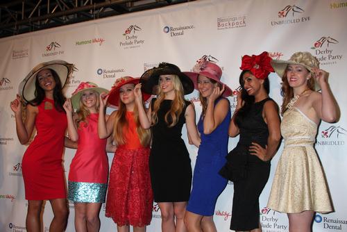 ladies hollywood derby hat