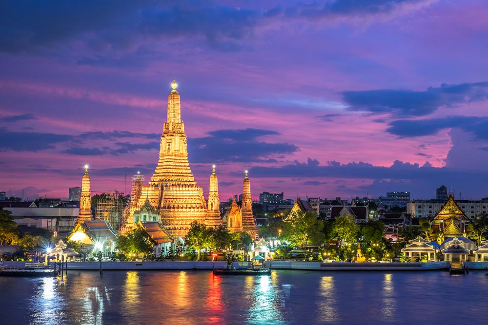 slider chao phraya bangkok