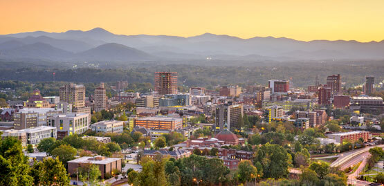 Cheap flights to Asheville