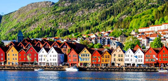 Cheap flights to Bergen