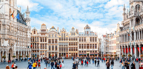 Cheap flights to Brussels
