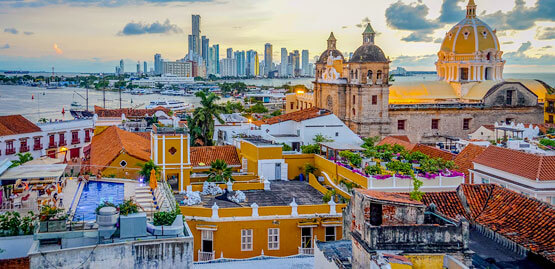 Cheap flights to Cartagena