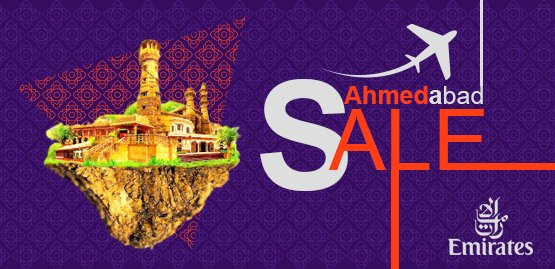 Cheap Flight to Ahmedabad With Emirates Airline