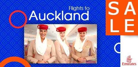 Cheap Flight to Auckland with Emirates