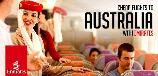 Cheap flights to Australia with Emirates