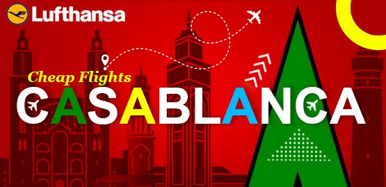 Cheap Flight to Casablanca