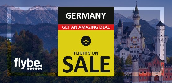 Cheap Flight to Germany with Flybe Airline