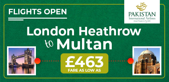 Cheap Flight to Multan