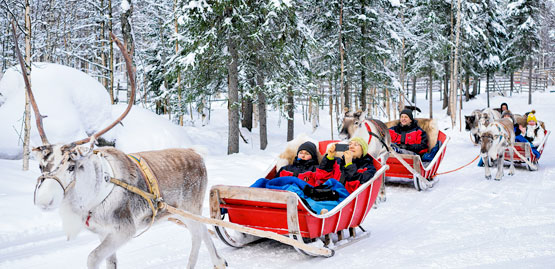 Cheap Flight to Rovaniemi