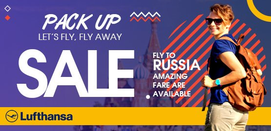 Cheap Flight to Russia With Lufthansa Airline