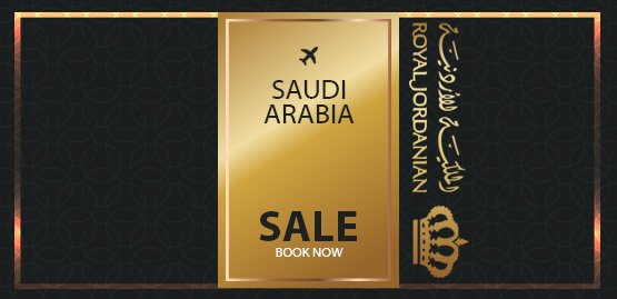 Cheap Flight to Saudi Arabia with Royal Jordanian Airline