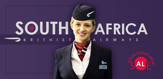 Cheap Flight to South Africa with British Airways