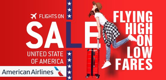 Cheap Flight to United States With American Airlines