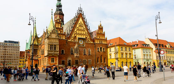 Cheap Flight to Wroclaw